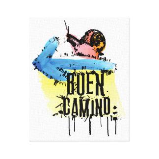 Buen Camino  Premium Wrapped Canvas (Gloss)