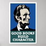 Buen carácter de la estructura de los libros -- póster
