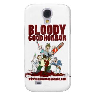 Buen caso sangriento del iPhone 3 del equipo del h Funda Para Galaxy S4