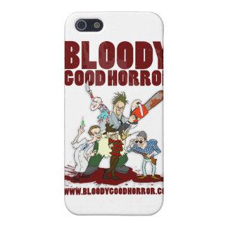 Buen caso sangriento del iPhone 4 del equipo del h iPhone 5 Fundas