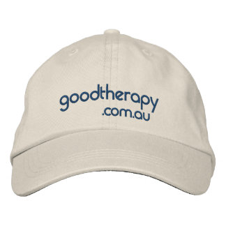 Buen casquillo de la terapia gorra de beisbol bordada