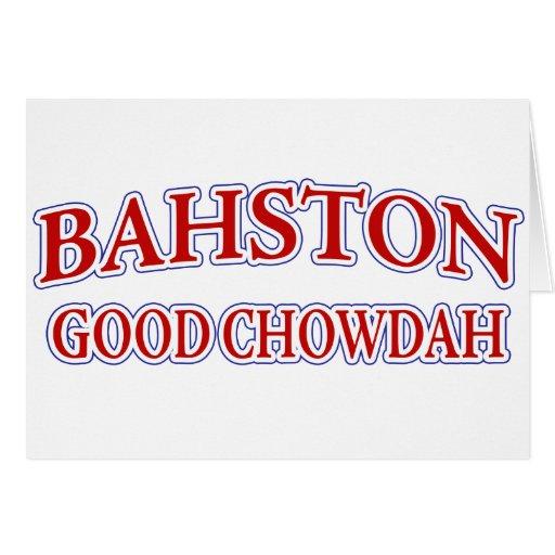 ¡Buen Chowdah! Tarjeta De Felicitación