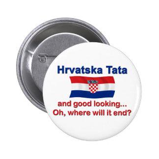 Buen croata Tata (papá) de Lkg Pins