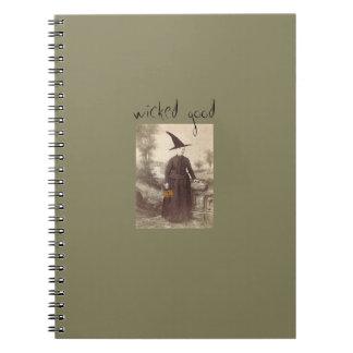 """""""Buen """" cuaderno travieso de la bruja de la granja"""
