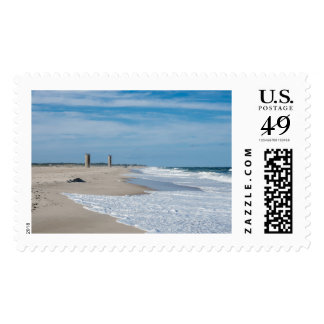 Buen día en la playa de Rehoboth Timbres Postales