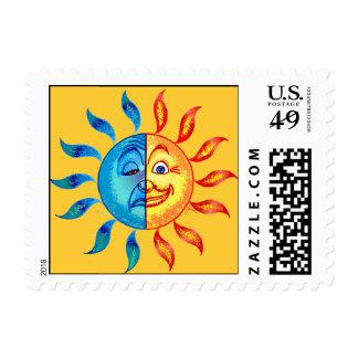 Buen día solar polar del BI Timbre Postal