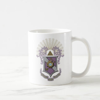 Buen escudo 4-C de la sigma pi Taza De Café