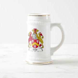 Buen escudo de la familia jarra de cerveza