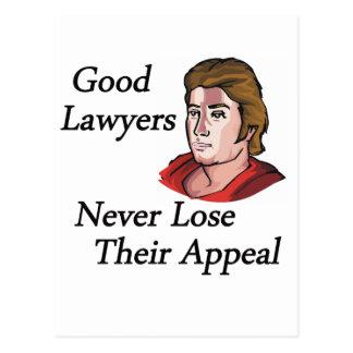 Buen hombre de los abogados tarjetas postales