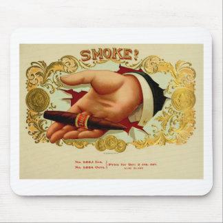 Buen humo para relajar y para disfrutar de vida un tapete de ratón