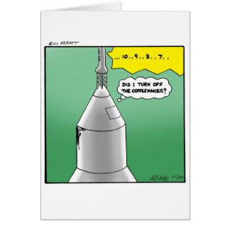 Buen humor divertido de la tarjeta de felicitación
