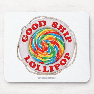 Buen Lollipop de la nave… Tapete De Ratones