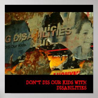 Buen mural de la causa posters