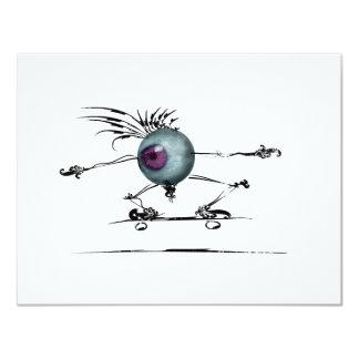 Buen ojo invitación 10,8 x 13,9 cm