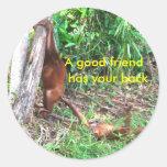 Buen pegatina de los amigos