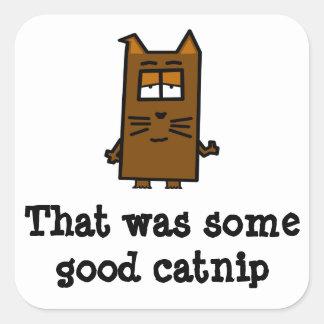 Buen pegatina del Catnip