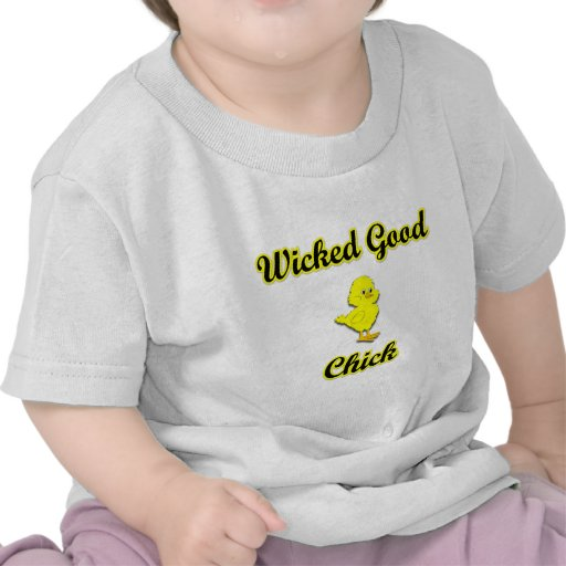 Buen polluelo travieso camiseta