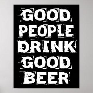 Buen poster de la cerveza