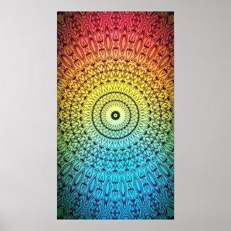 Buen poster de la mandala #5 de la sensación