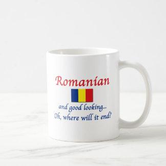 Buen rumano de Lkg (mujeres) Taza Básica Blanca