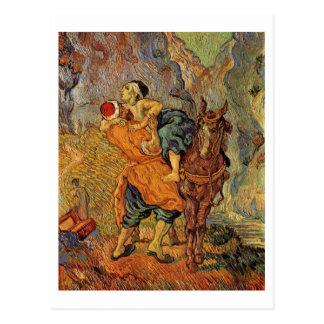 Buen samaritano (después de Delacroix), Vincent Postal