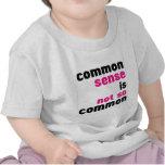 Buen sentido (blanco) camiseta