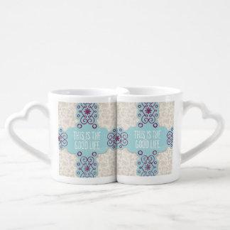 Buen sistema de la taza de los amantes del café taza para parejas