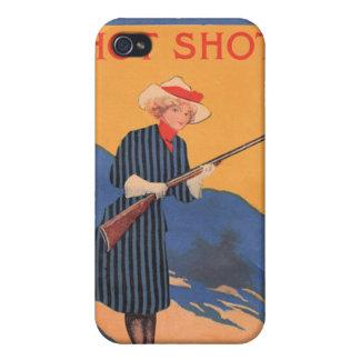 Buen tirador de la vaquera del vintage iPhone 4 fundas