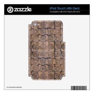Buen transformativo aventurero Justo-Importada iPod Touch 4G Calcomanía