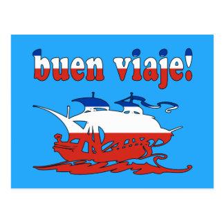 Buen Viaje - buen viaje en chileno - vacaciones Tarjetas Postales