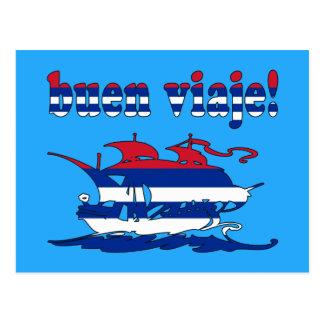 Buen Viaje - buen viaje en cubano - vacaciones Postales