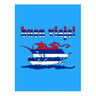 Buen Viaje - buen viaje en cubano - vacaciones Postal