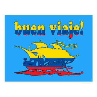 Buen Viaje - buen viaje en Ecuadorian - vacaciones Tarjeta Postal