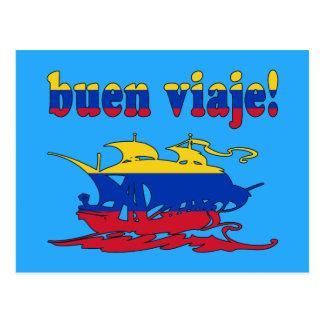 Buen Viaje - buen viaje en venezolano - vacaciones Postales