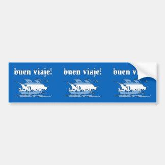 Buen Viaje - Good Trip in Argentine - Vacations Bumper Sticker