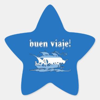 Buen Viaje - Good Trip in Argentine - Vacations Star Sticker