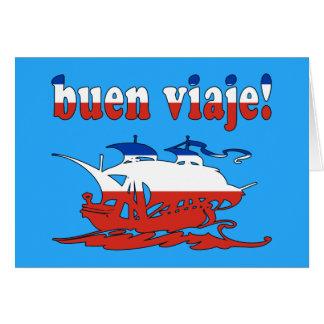 Buen Viaje - Good Trip in Chilean - Vacations Card
