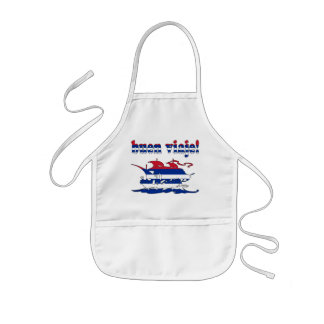 Buen Viaje - Good Trip in Cuban - Vacations Kids' Apron