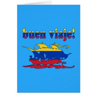 Buen Viaje - Good Trip in Venezuelan - Vacations Card