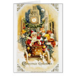 Buen viejo navidad felicitaciones