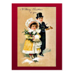 Buen viejo navidad postales