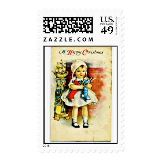 Buen viejo navidad sello