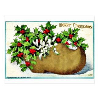 Buen viejo navidad tarjetas postales