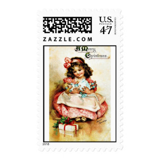 Buen viejo navidad timbres postales