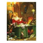 Buen viejo Papá Noel Postales