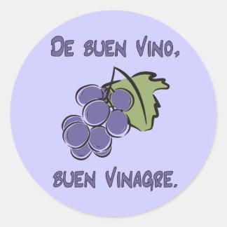 Buen Vino Stickers