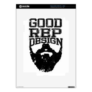 Buena barba del representante iPad 2 skin
