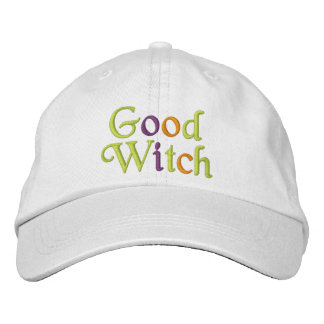 Buena bruja gorra de béisbol bordada