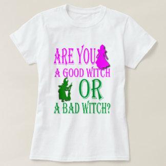¿Buena bruja o malo? Playera