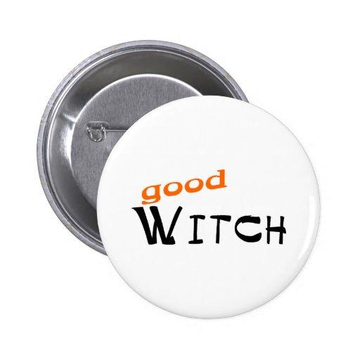 buena bruja pin